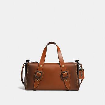 Coach Mailbox Bag 35 焦糖色复古邮差包 7折优惠!