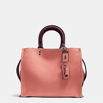 Coach 蔻驰 Rogue Bag In Glovetanned Leather 大号皮革贵妇包 低至4折优惠!