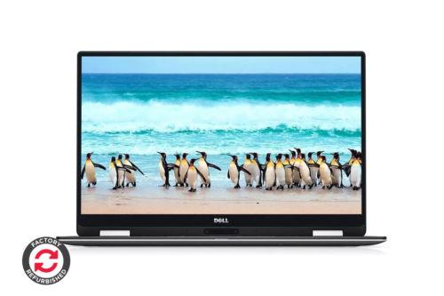 戴尔 Dell XPS 13 9365 (8GB RAM, i7, 256GB, Silver) 2-1笔记本电脑 8折优惠!
