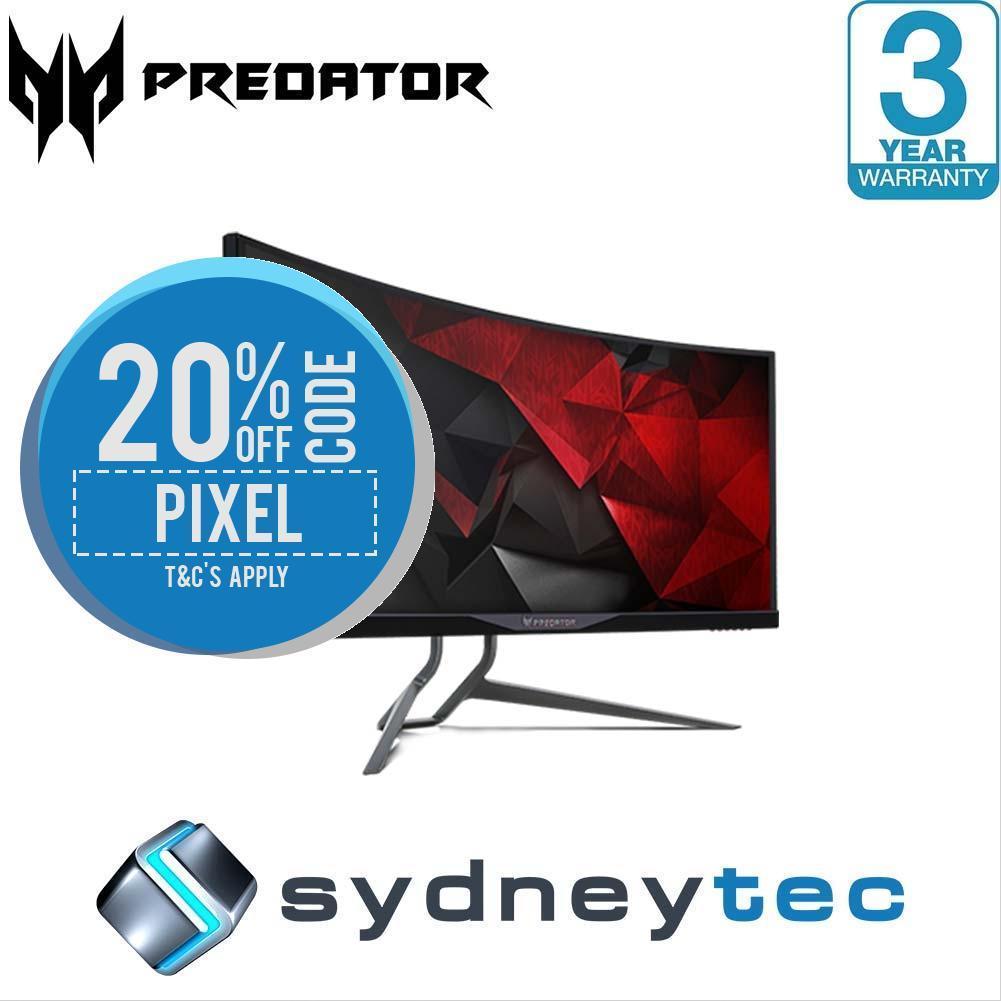 Acer Predator X34P 34寸 IPS曲面电竞显示器(3440×1440、G-Sync)8折优惠!