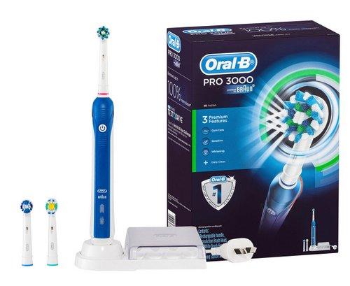 [eBay Plus] Oral-B Pro 3000 电动牙刷套装 – 低至4折优惠!