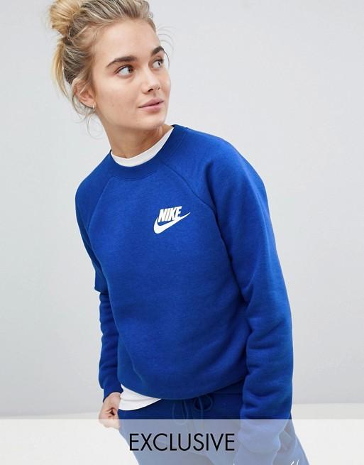 Nike Rally  女款蓝色运动衫 7折优惠!