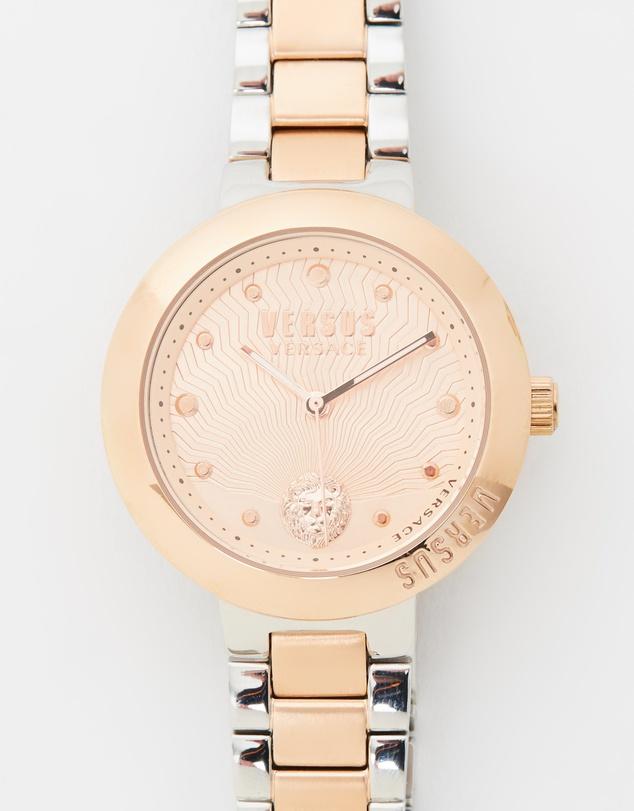 Versace 玫瑰金手表 75折优惠