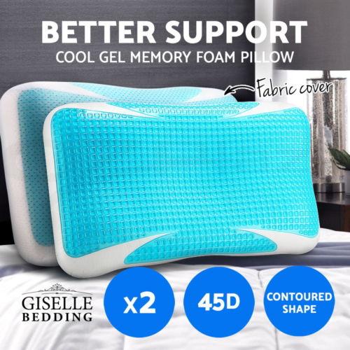 Giselle Bedding 冷却凝胶泡沫记忆枕头 4折优惠!