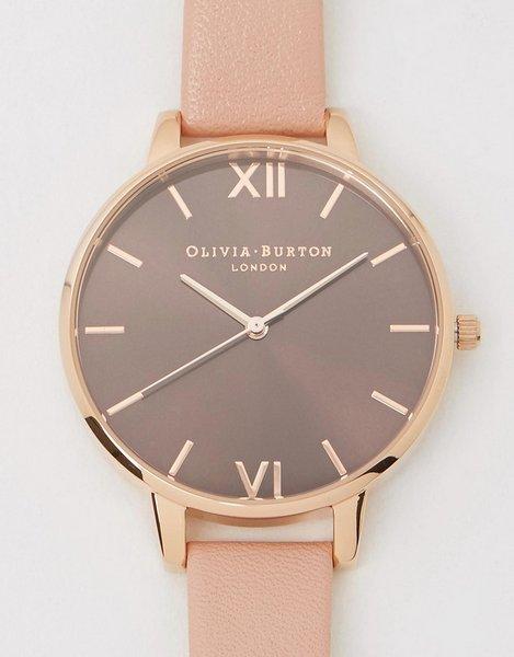OLIVIA BURTON 女款玫瑰金简约腕表 85折优惠!