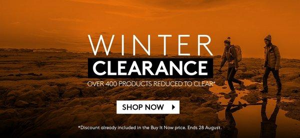 户外运动品牌 Kathmandu eBay 店冬季清仓活动:部分精选商品