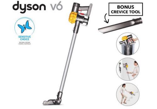 [eBay Plus 会员专享] 戴森 Dyson V6 Slim 手持式无绳吸尘器 + 额外小工具 低至7折优惠!