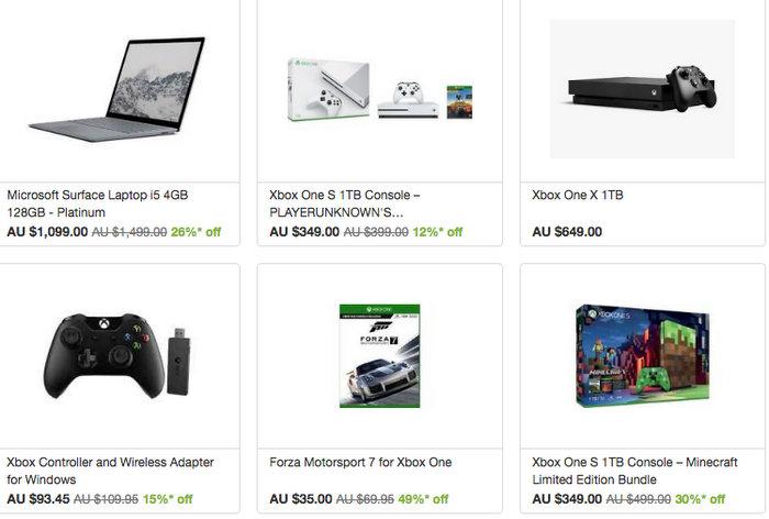 Microsoft 官方 eBay 店:部分精选 Surface Laptop、Xbox One 等商品8折优惠!