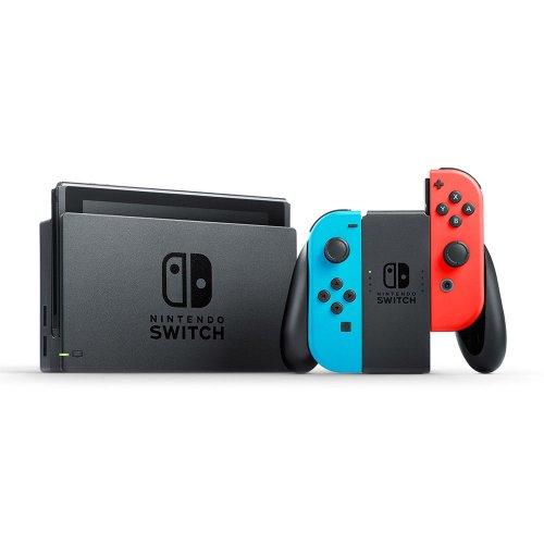 Nintendo 任天堂 SWITCH 游戏主机 红蓝配色 – 9折优惠!