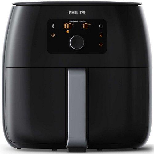 飞利浦 Philips HD9651/91 Twin TurboStar 无油智能多功能 超大容量空气炸锅 73折优惠!