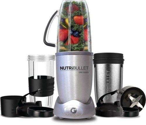 NUTRiBullet 1200瓦 营养榨汁机 料理机12件套  N121207 – 8折优惠!