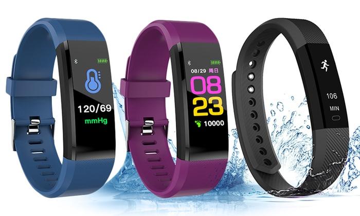 智能手环 监测心率血压心跳 防水运动记计步器 彩色屏幕