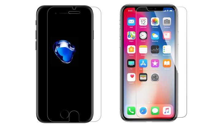 苹果手机 钢化膜 iPhone 6 7 8 S Plus 防指纹手机贴膜