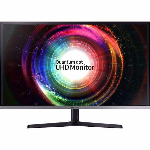 SAMSUNG 三星 U32H850 32寸 VA游戏显示器(3860×2160、125%sRGB、QLED)6折优惠!