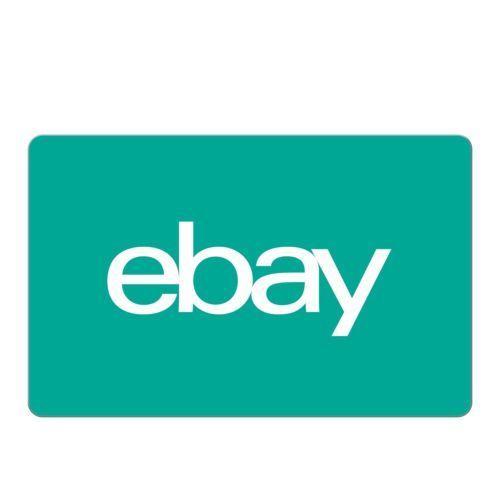 原价100刀的 eBay Digital Gift Card 代金券 – 95折优惠!