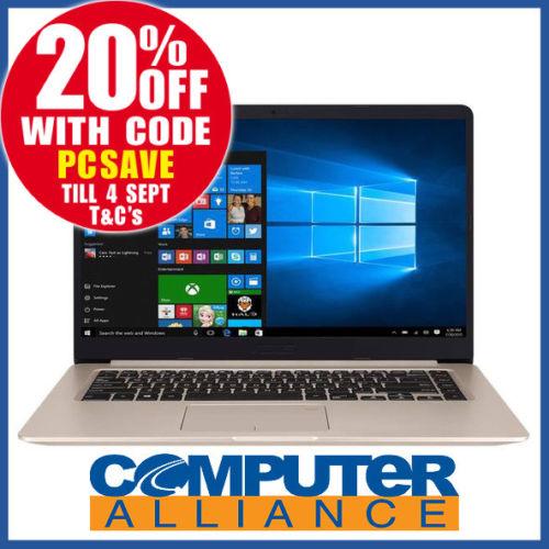 华硕 ASUS K510UQ-BQ701T 15.6″ (i7-8550U 16GB 512GB)笔记本电脑 8折优惠!