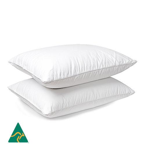 【eBay Plus】Microfibre 填充 纯棉枕套 枕头两只装 低至3折优惠!