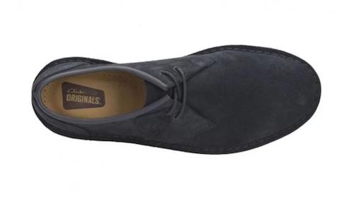 Clarks Jink 2 男款真皮休闲鞋 海军蓝色 低至3折优惠!