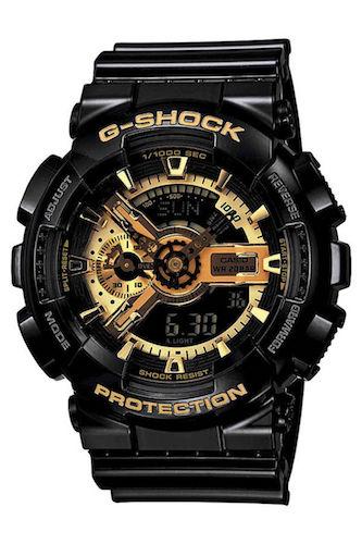 Casio 卡西欧 G-Shock 系列 GA-110GB-1A 男款双显运动腕表 – 5折优惠!