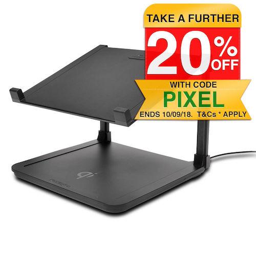 Kensington SmartFit 笔记本电脑支架 + Qi Wireless 无线充电板 低至7折优惠!