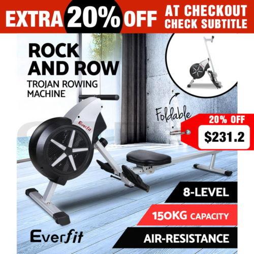 Everfit 划船器 有氧健身减肥器材 8折优惠!