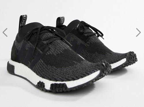 阿迪达斯 adidas Originals NMD Racer PK 中性休闲慢跑鞋 黑色 半价优惠!