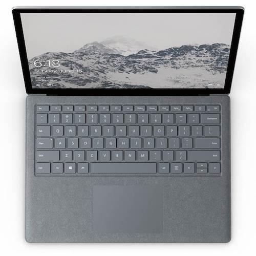 微软 Microsoft Surface Laptop i5 4GB 128GB 13.5寸触控超极本 - Platinum - 低至6折优惠!