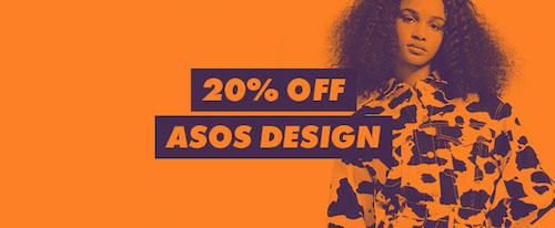 时尚网站 ASOS:ASOS Design 品牌部分精选商品 –