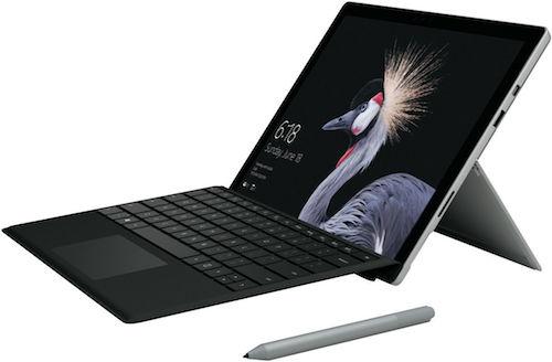 微软 Microsoft Surface Pro 12.3寸 2合1笔记本电脑 – i5 256GB 8GB – 8折优惠!