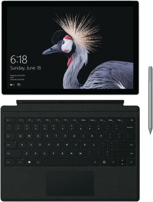 微软 Microsoft Surface Pro 12.3寸 2合1笔记本电脑 - i5 256GB 8GB - 8折优惠!