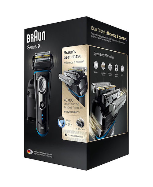 [eBay Plus 会员] BRAUN 9系列 干湿两用电动剃须刀(带清洁底座)- 低至5折优惠!