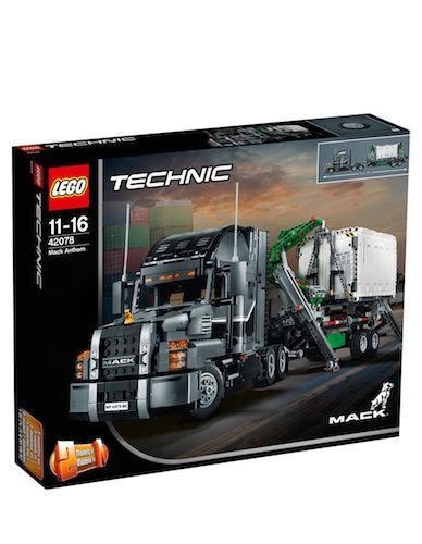 乐高 LEGO 积木 Technic 科技系列 Mack Anthem 42078 马克卡车 – 64折优惠!