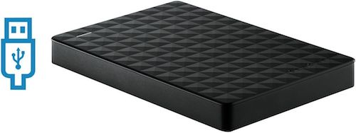 希捷 Seagate 2886338 2TB Expansion 便携式移动硬盘 – 8折优惠!