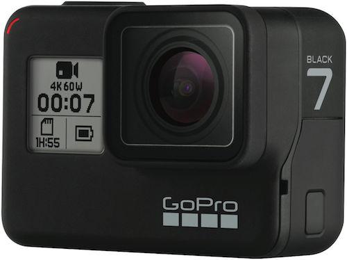 GoPro HERO7 Black 运动相机 4K高清防抖 防水 2018旗舰款 – 9折优惠!