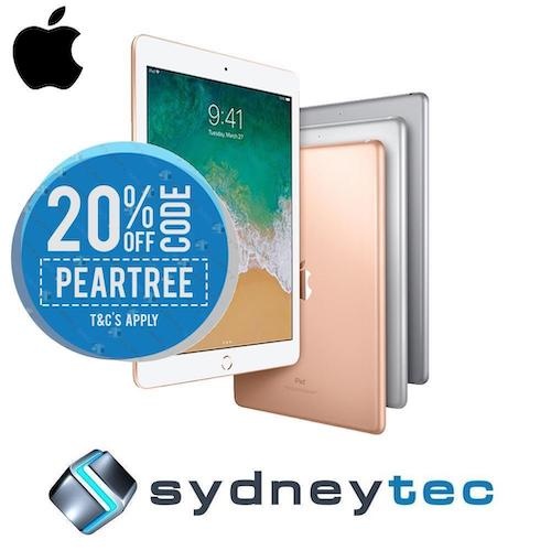 苹果 Apple iPad 9.7″2018 6th 128GB WiFi  – 用码后只要$527!