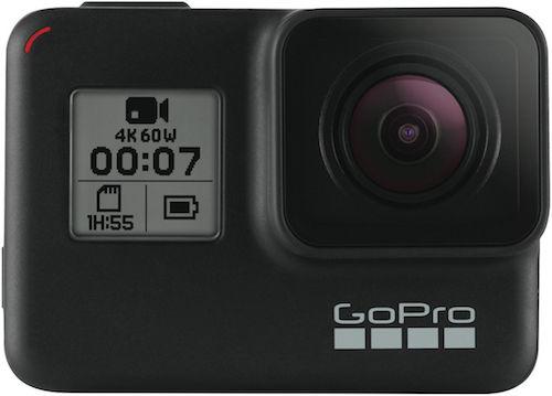 GoPro HERO7 Black 运动相机 4K高清防抖 旗舰款 – 9折优惠!