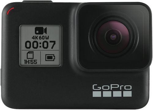 GoPro Hero7 Black 4K高清防抖 防水 旗舰款 运动相机  – 8折优惠!