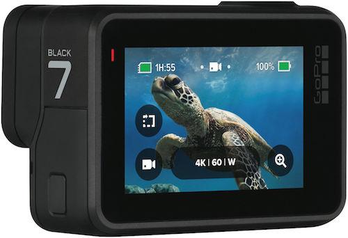GoPro HERO7 Black 运动相机 4K高清 防水 2018旗舰款 – 8折优惠!