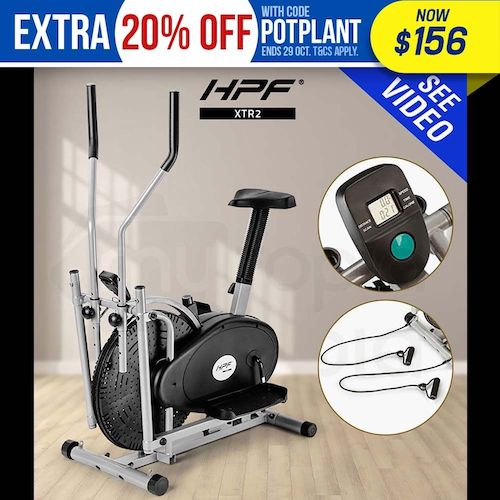 HPF XTR2 4合1 家庭健身自行车 椭圆机 – 低至35折优惠!