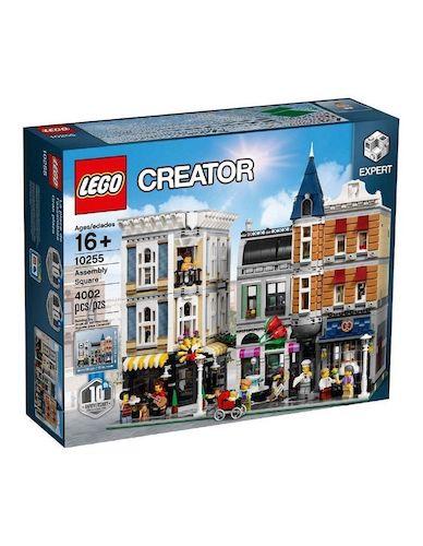 LEGO 乐高 Creator Expert Assembly Square 10255 创意高手 集会广场 – 低至6折优惠!