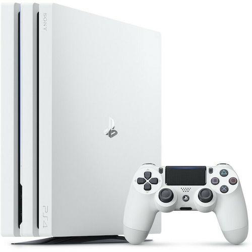[eBay Plus 会员] Sony 索尼 PlayStation PS4 Pro 游戏主机 1TB 白色款  – 76折优惠!