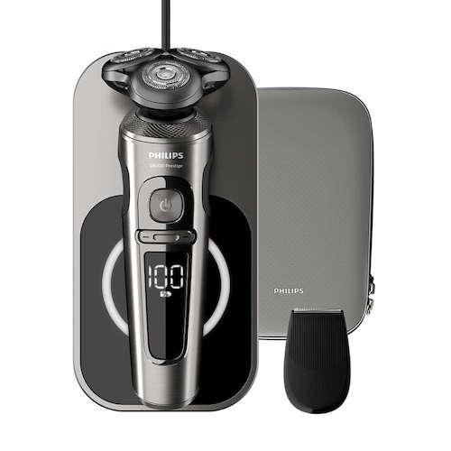 飞利浦 Philips S9000 Prestige 9000系列旗舰版 干湿两用电动剃须刀 SP9860/13 – 7折优惠!