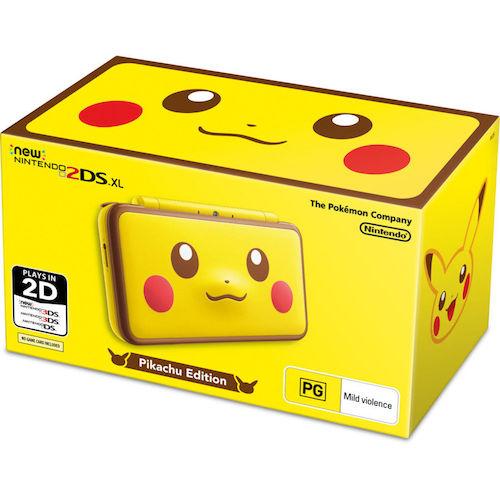 Nintendo 任天堂 New 2DS XL 皮卡丘限定版游戏掌机  – 95折优惠!