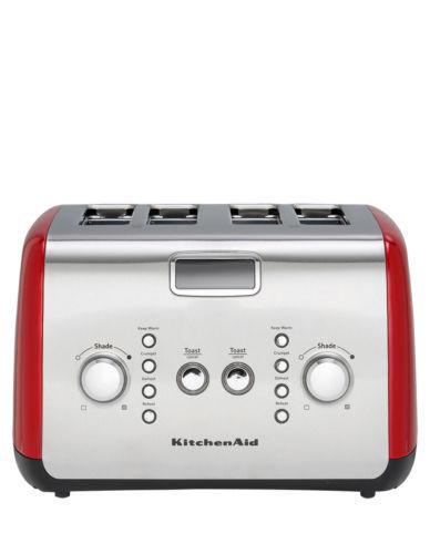 KitchenAid Artisan  4片烤面包机 – 红色 75折优惠!