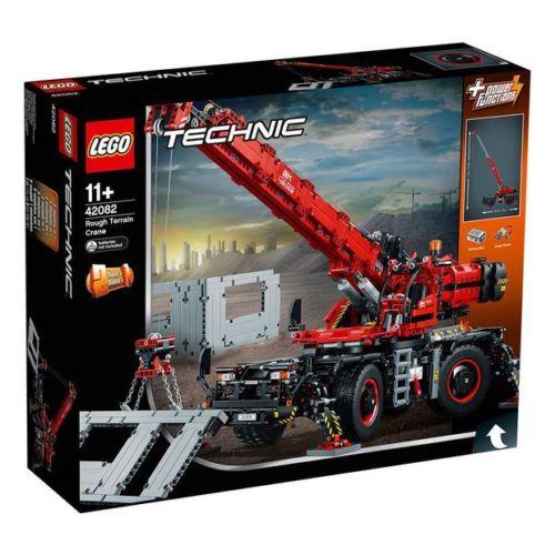 LEGO 乐高 机械组 42082 复杂地形起重机 积木玩具 – 75折优惠!
