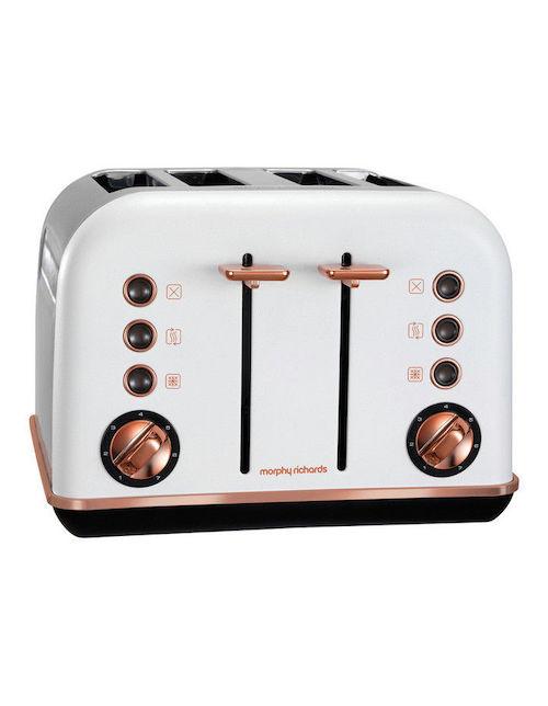 Morphy Richards Accents 4片 家用烤面包机 – 低至65折优惠!