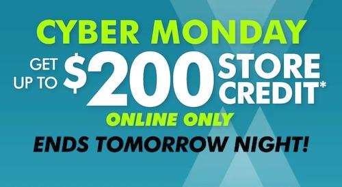 "家电卖场 TheGoodGuys ""Cyber Monday"" 活动:购物满$100 – $1300 –"