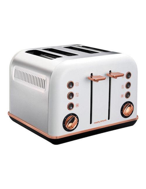 Morphy Richards Accents 4片 家用烤面包机 - 低至65折优惠!
