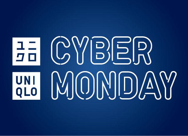 """优衣库 Uniqlo 澳洲官网 """"Cyber Monday"""" 活动:部分精选商品 – 低至5折优惠!"""