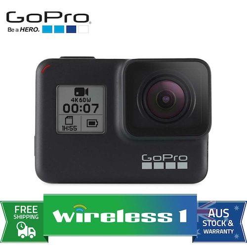 GoPro HERO7 Black 运动相机 4K高清防抖 2018旗舰款 – 直降130刀!